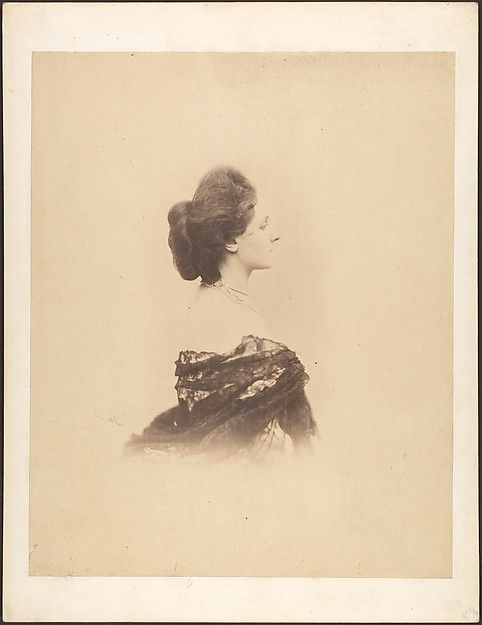 Profile with Chignon, Large Artist: Pierre-Louis Pierson (French, 1822–1913) Person in Photograph: Countess Virginia Oldoini Verasis di Castiglione (1835–1899) Date: 1859 Medium: Albumen silver print from glass negative Credit Line: Gilman Collection, Gift of The Howard Gilman Foundation, 2005