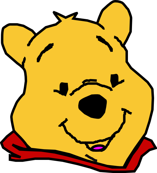 Image result for winnie the pooh face black and white if i was image result for winnie the pooh face black and white voltagebd Gallery