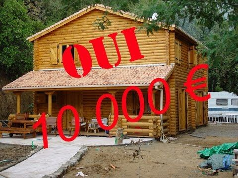 Construction du0027une maison bois en kit - YouTube дом Pinterest - Montage D Un Garage En Bois