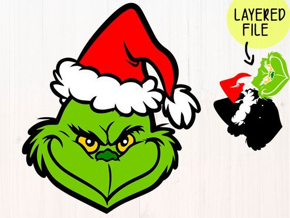 Christmas Grinch Svg.The Grinch Svg Files Grinch Face Svg Christmas Grinch Cut