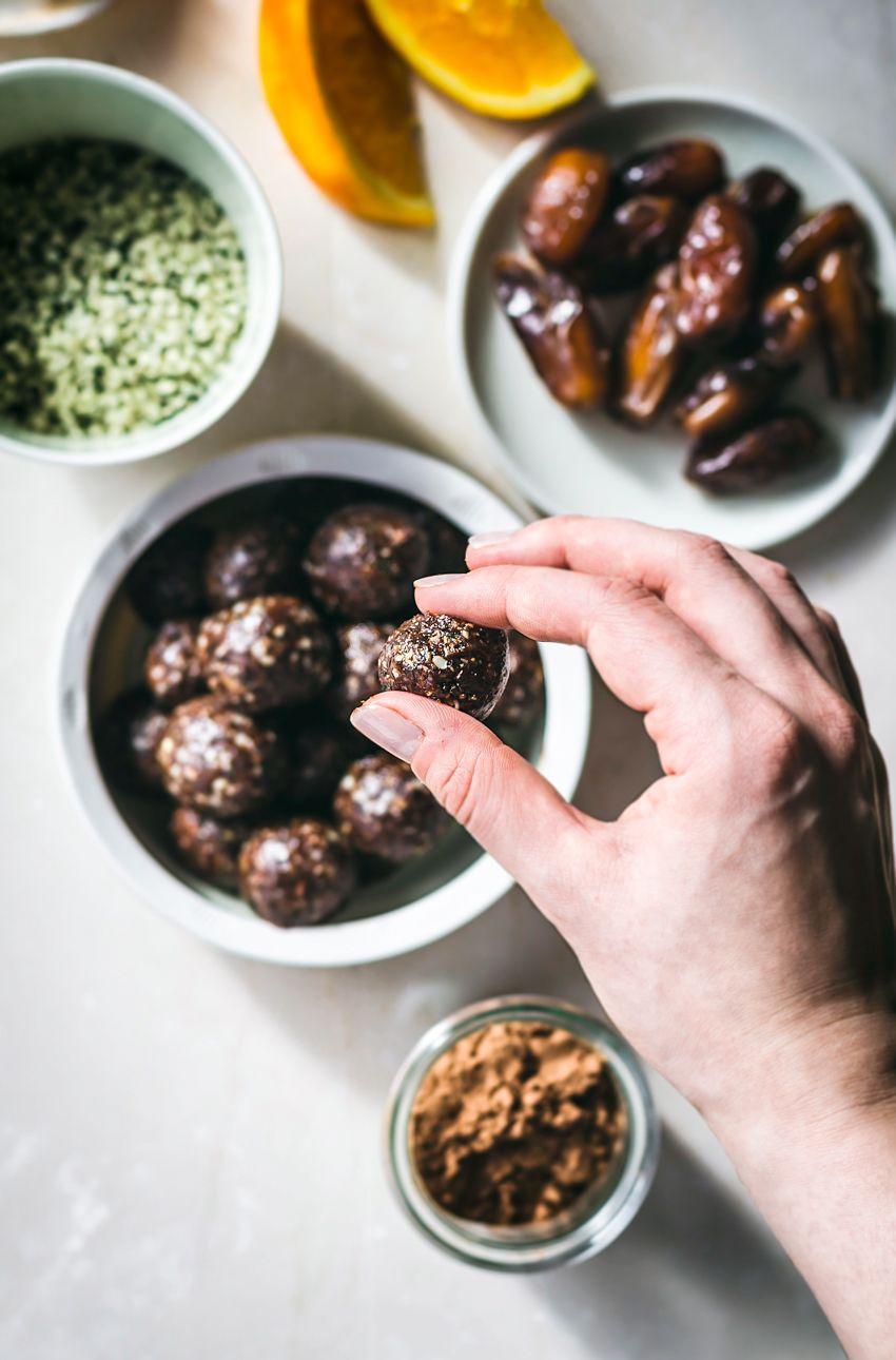 Chocolate Hemp Energy Bites Occasionally Eggs Recipe
