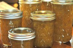 green plum jam .. pretty simple recipe