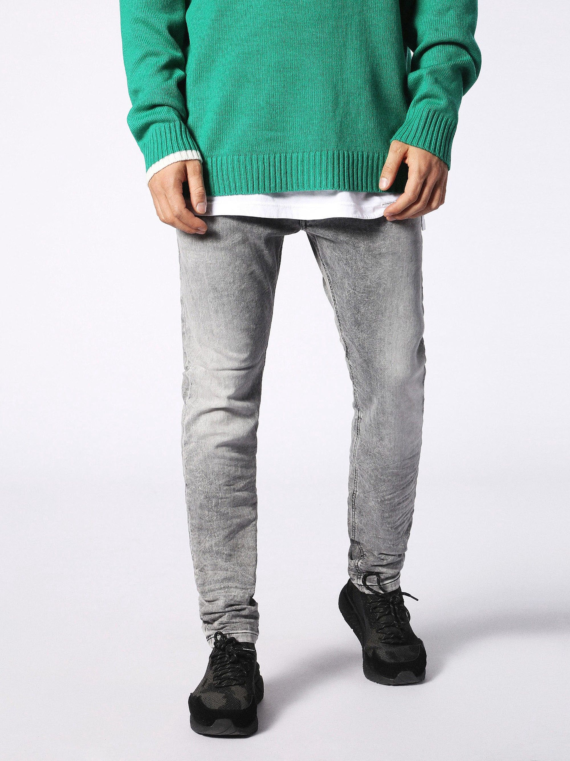 New Latest Diesel Denim Krooley 0855b Jogg Jeans for Men On Sale On Sale