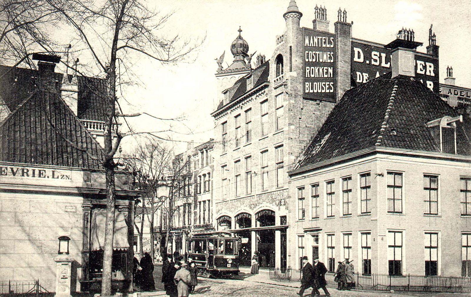 https://flic.kr/p/ejNvL9 | Groningen Herestraat hoek Zuiderdiep ca. 1912