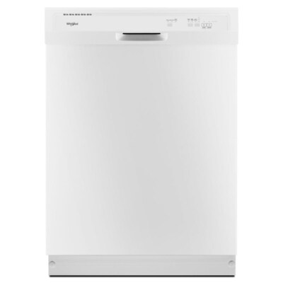 Whirlpool 55 Decibel Built In Dishwasher White Common 24 Inch