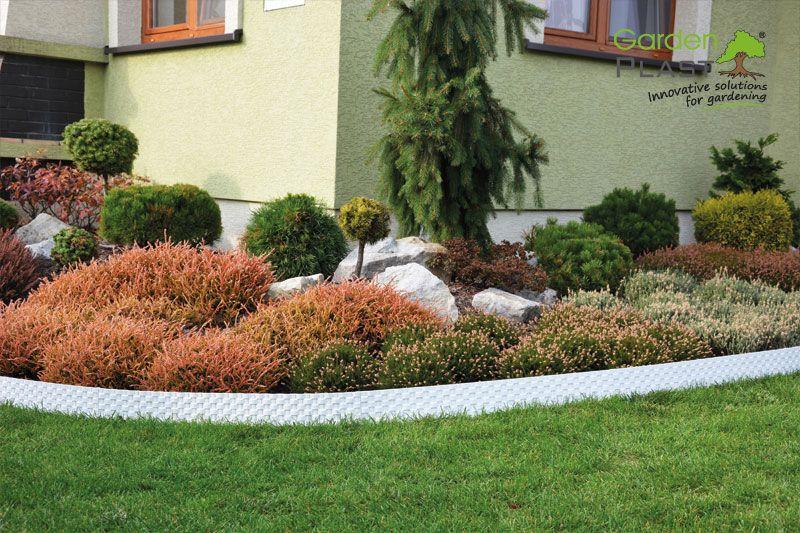 Palisada Ogrodowa Rattan Plants Sidewalk Structures