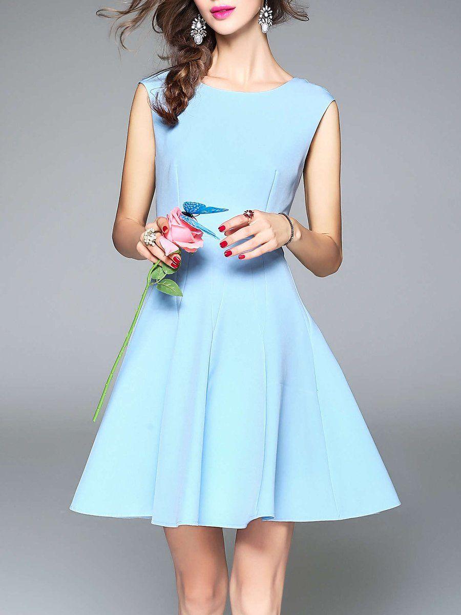 Adorewe stylewe designer mini dresses designer tootang crew neck