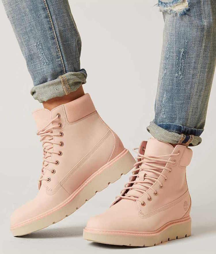 chaussure type timberland femme