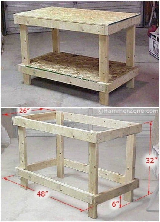 Photo of 50 DIY home decor and furniture projects you can make from 2X4s – DIY & Crafts …