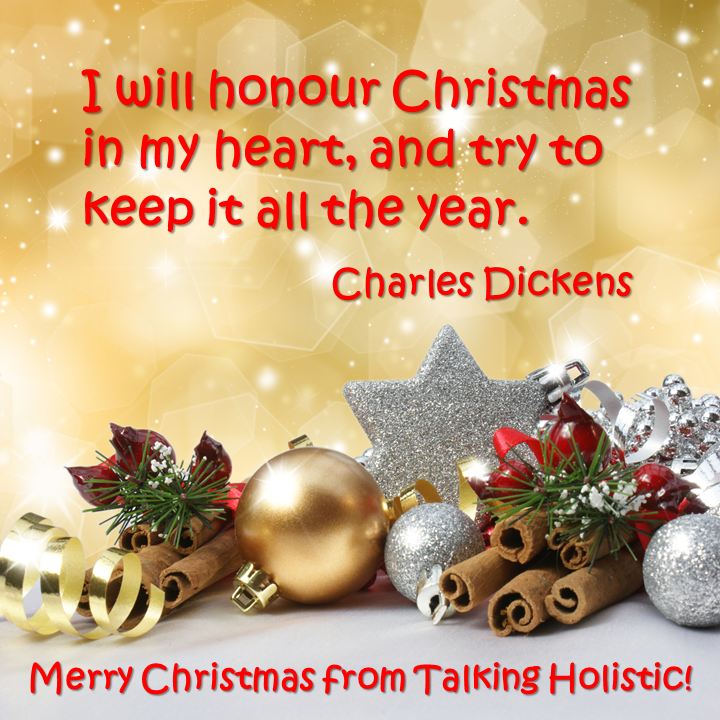 Wishing You A Very Happy Christmas! Merry Christmas From Talking Holistic! # Christmas · Motivational QuotesMerry ...