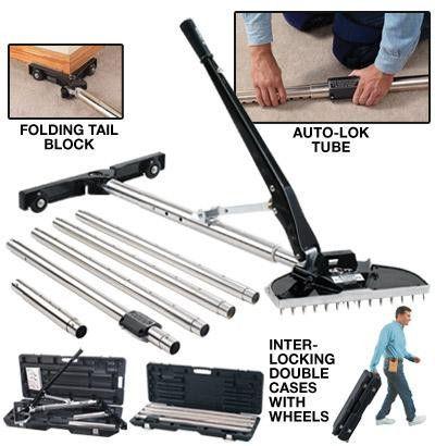 Crain 520 Swivel Lock Stretcher Carpet Stretcher Pool Plaster