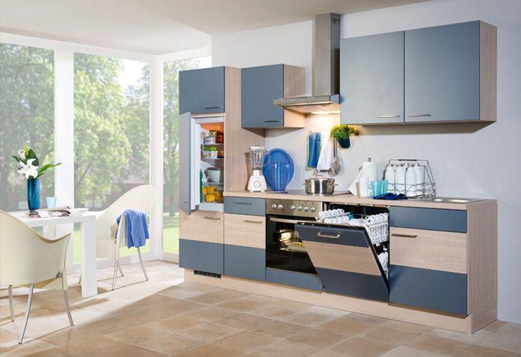Küche in hellblau küchenzeile www dyk360 kuechen de