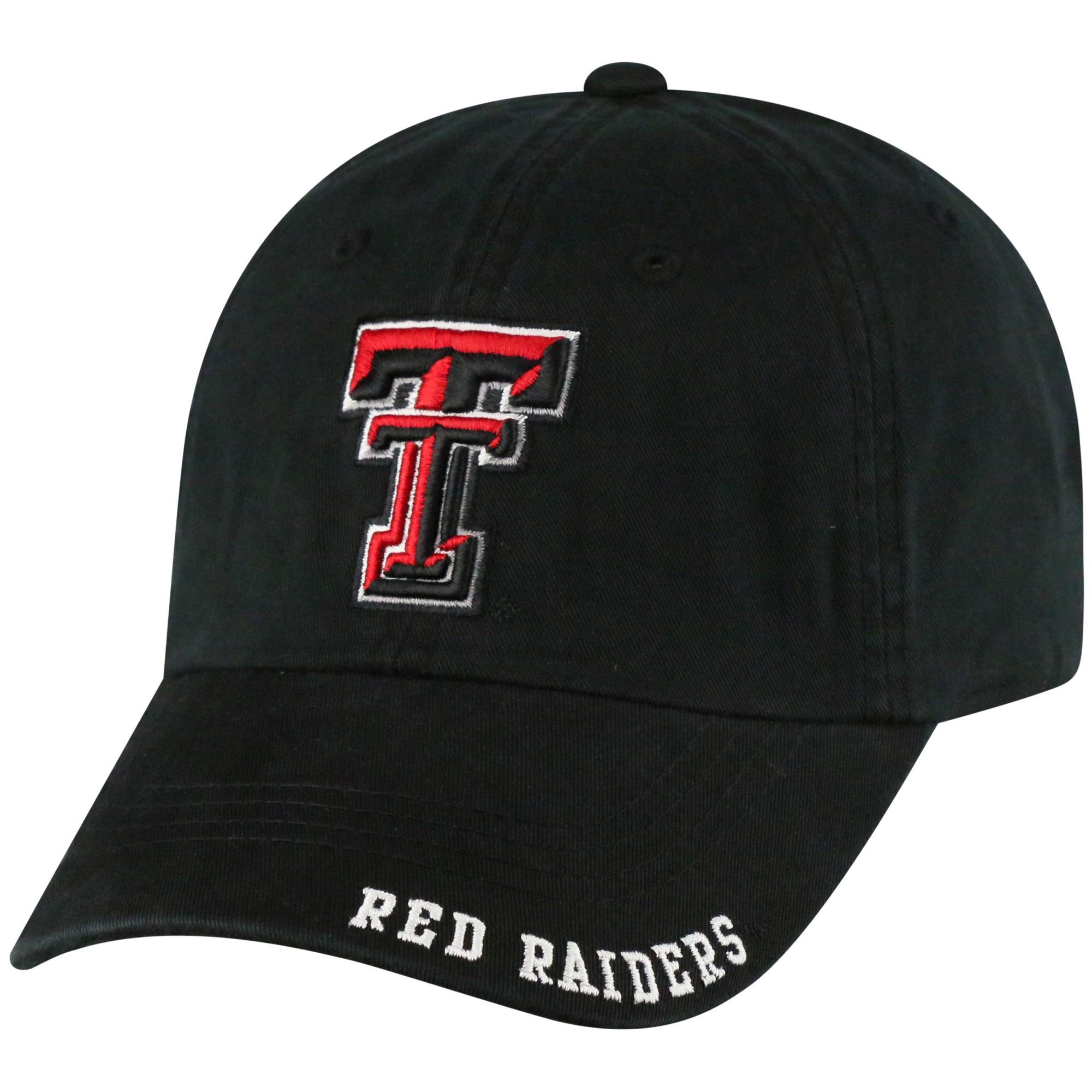 8a53e40f5cc NCAA Texas Tech Red Raiders Captain Adjustable Atc Baseball Hat ...