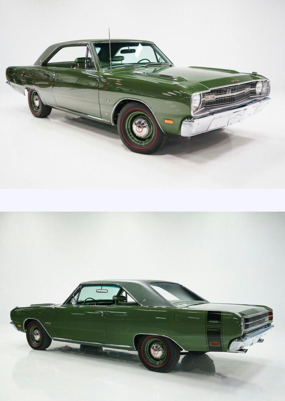 1969 Dart Gts 383 More Americanmusclecars Clasic Cars Coches