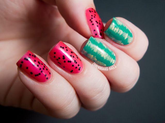 Chalkboard Nails | Nail Art Blog: favorite