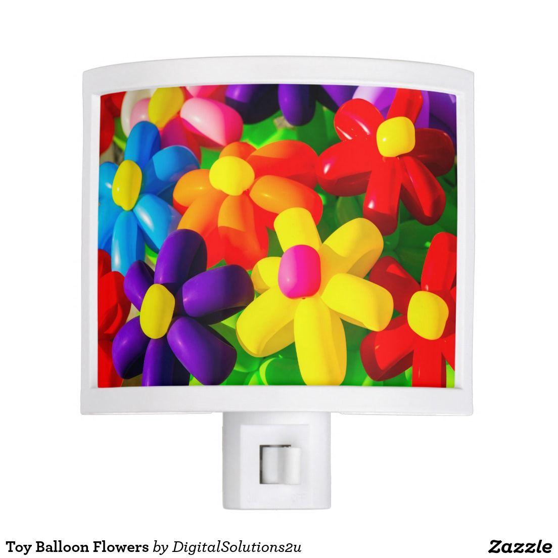 Toy Balloon Flowers Night Light