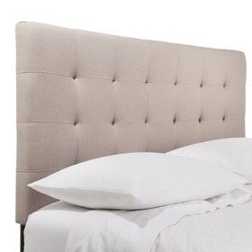 Solid Upholstered Headboards Target Mobile Bedroom Headboard