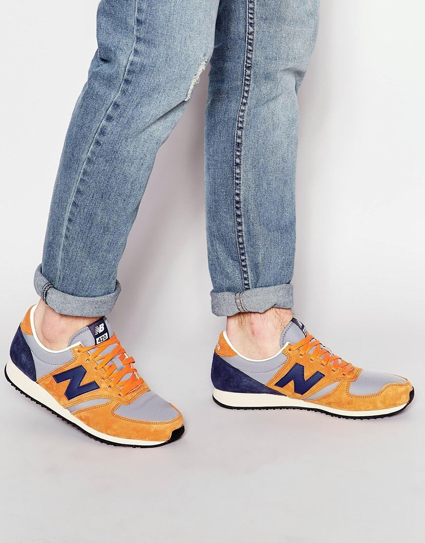 new balance 420 womens orange
