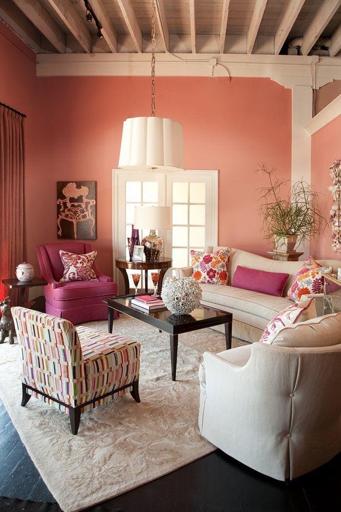 Wohnzimmer Ideen Mit Rosa: 75 Verblüffende Wohnzimmer Ideen | Pinterest |  Wohnzimmer Ideen, Rosa Und Ausstrahlung