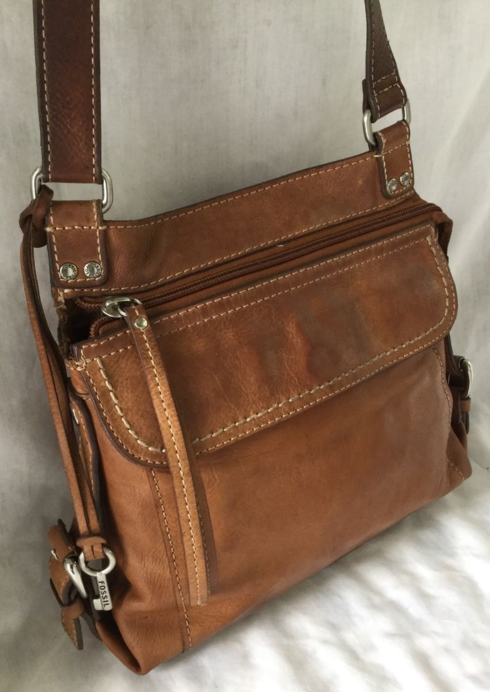 Vintage Fossil Convertible Organizer Leather Bag Purse In Clothing Shoes Accessories Women S Handbags Bags Purses Ebay