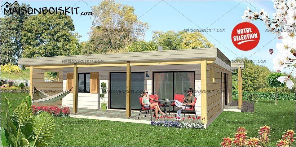 Prix Maison Moderne 2 Chambres Toit Plat Maison Bois Maison