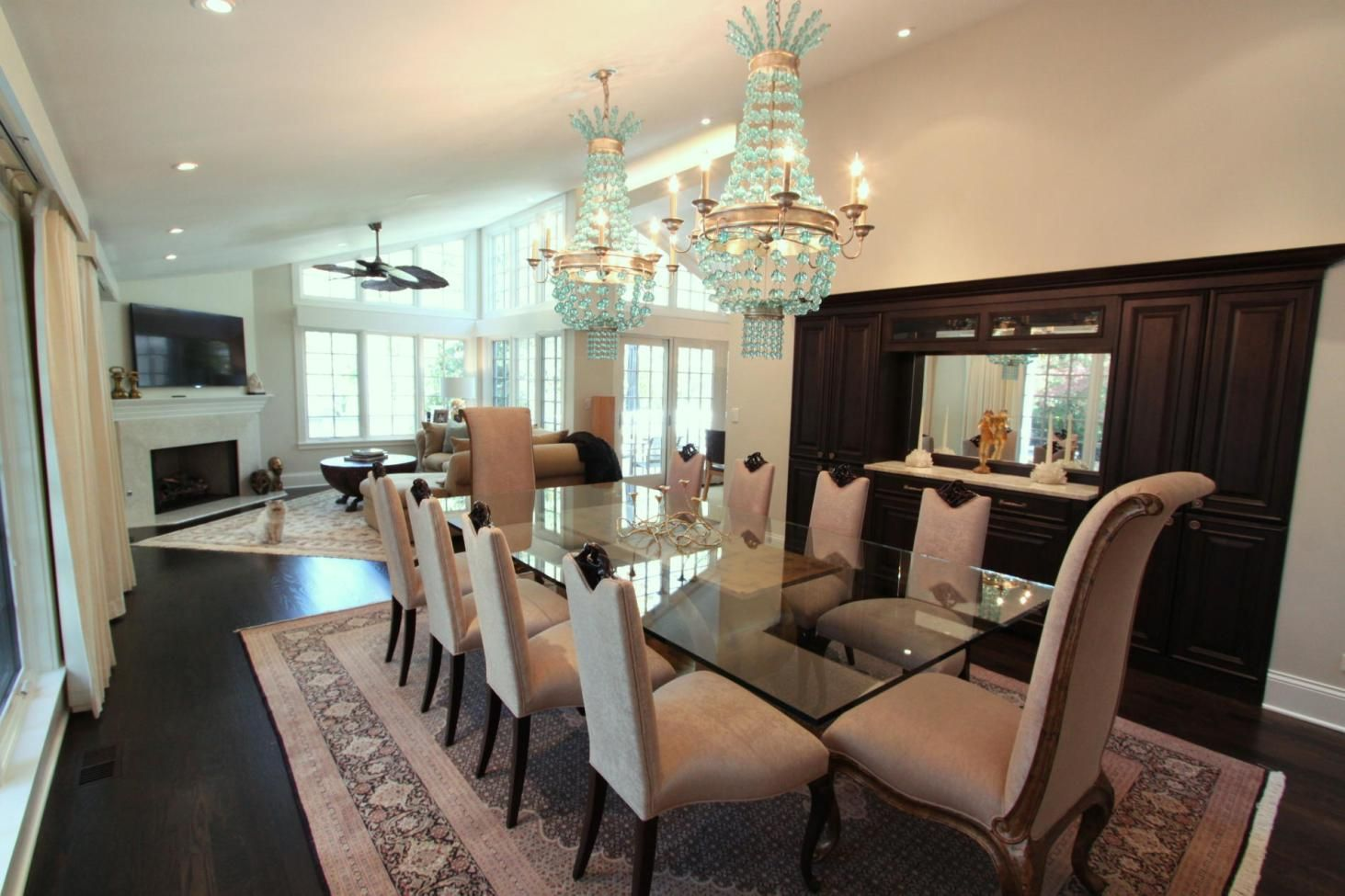 L-Shaped Dining & Living Room Decorating - Think Cleverly ...