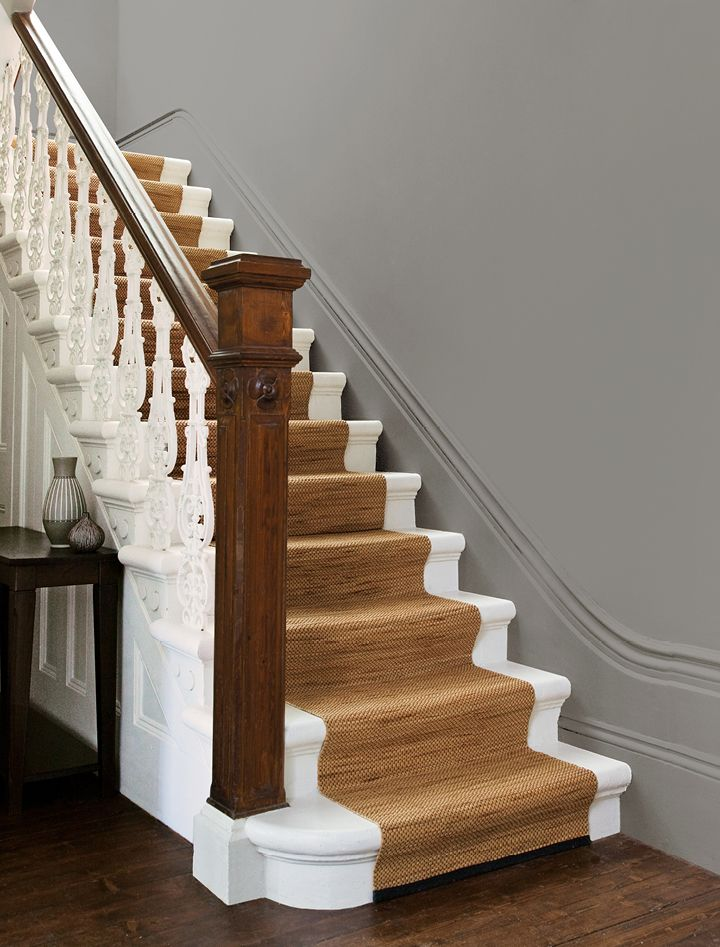 Step Inside Matt Hall Stairs Crown Paints