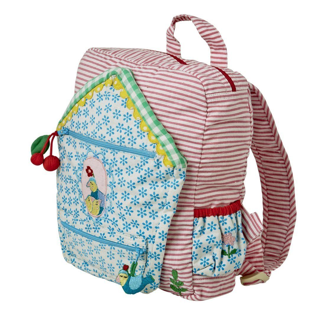 rice rucksack f r kinder mit tollen motive vogel amazon. Black Bedroom Furniture Sets. Home Design Ideas
