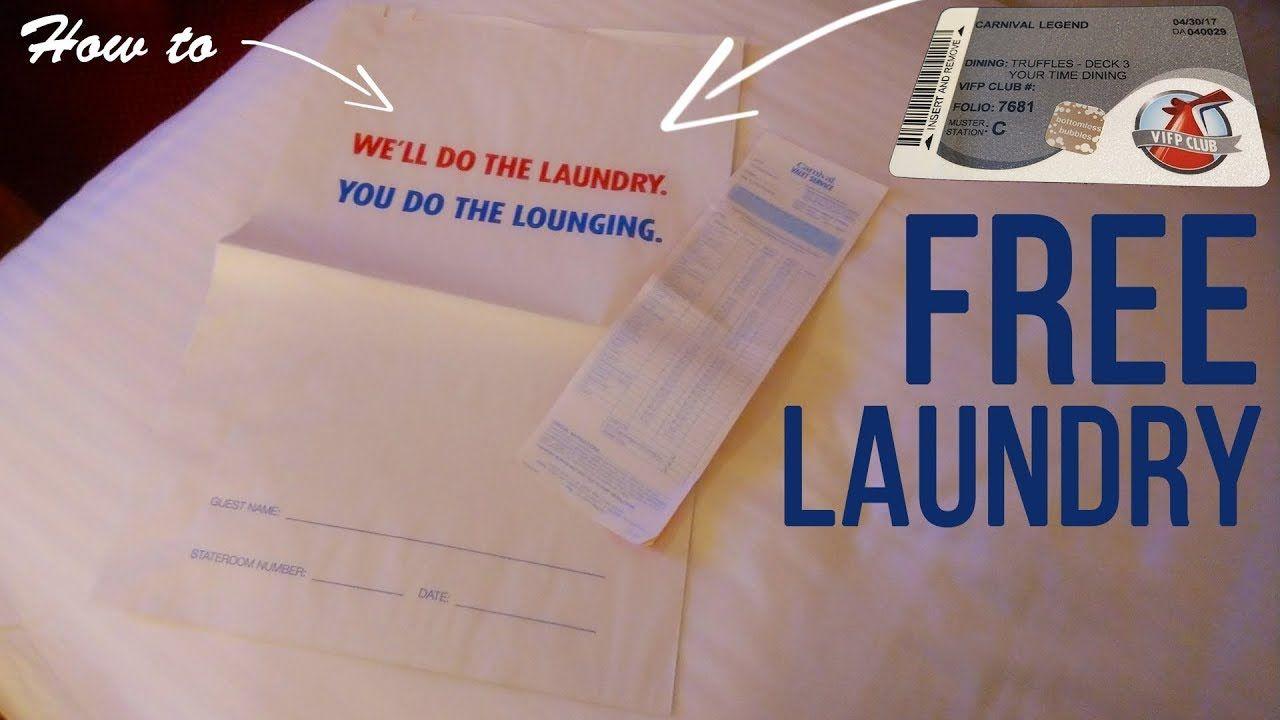 Carnival Cruise Free Laundry Cruise Wash Fold Carnival