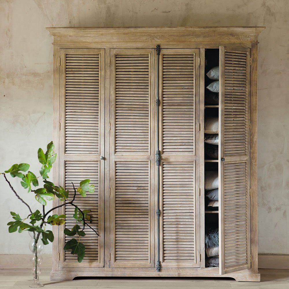 Best Mango And Acacia Closet Single Wardrobe Wardrobe 400 x 300