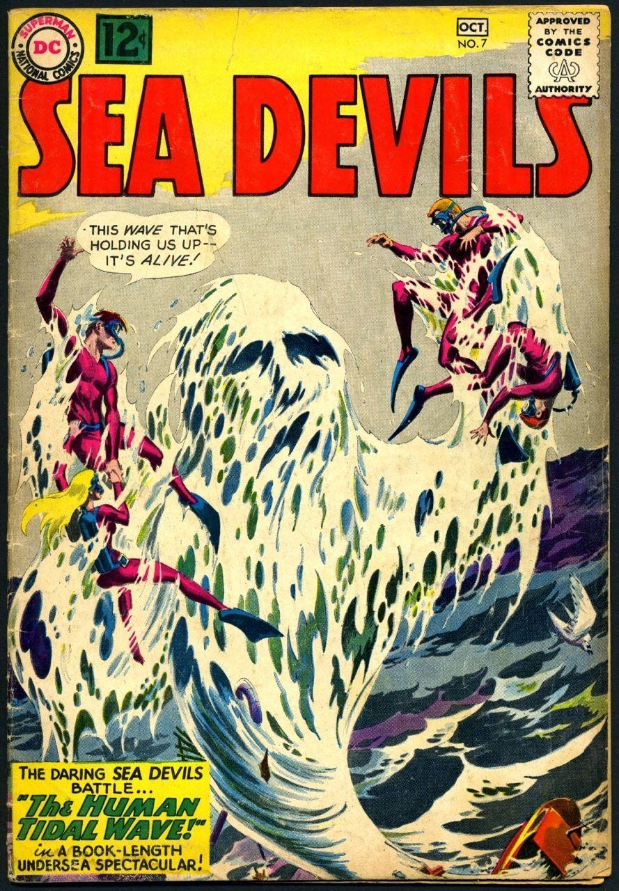 Russ Heath: Human tidalwave!