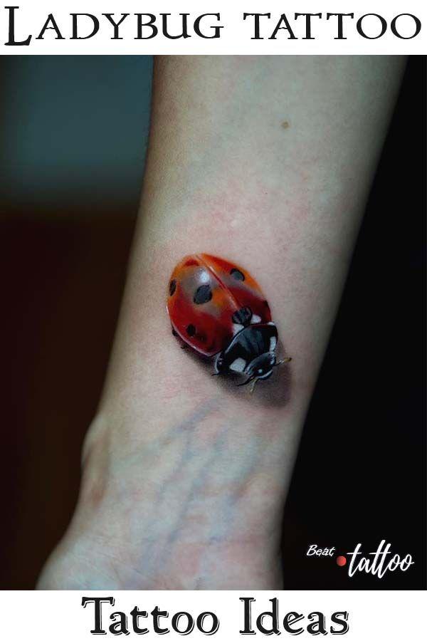 Ladybug Tattoo #tattooideas #tattoosleeve #ladybugtattoo #inkpeople