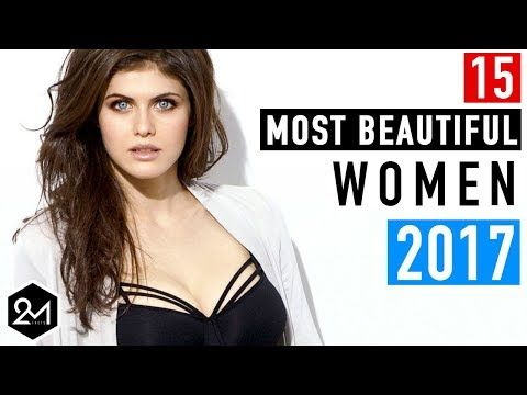 Top 15 Most Beautiful Women In The World 2017 - YouTube
