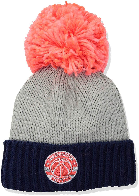 4322eab86 NBA Washington Wizards Women's Cuffed Knit Hat with Neon Pom, $23.95 ...
