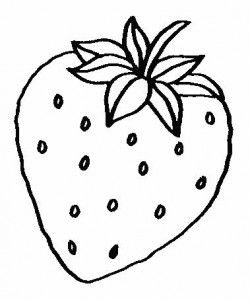 Fruit Coloring Page Part 2 Paginas Para Colorear Dibujos De