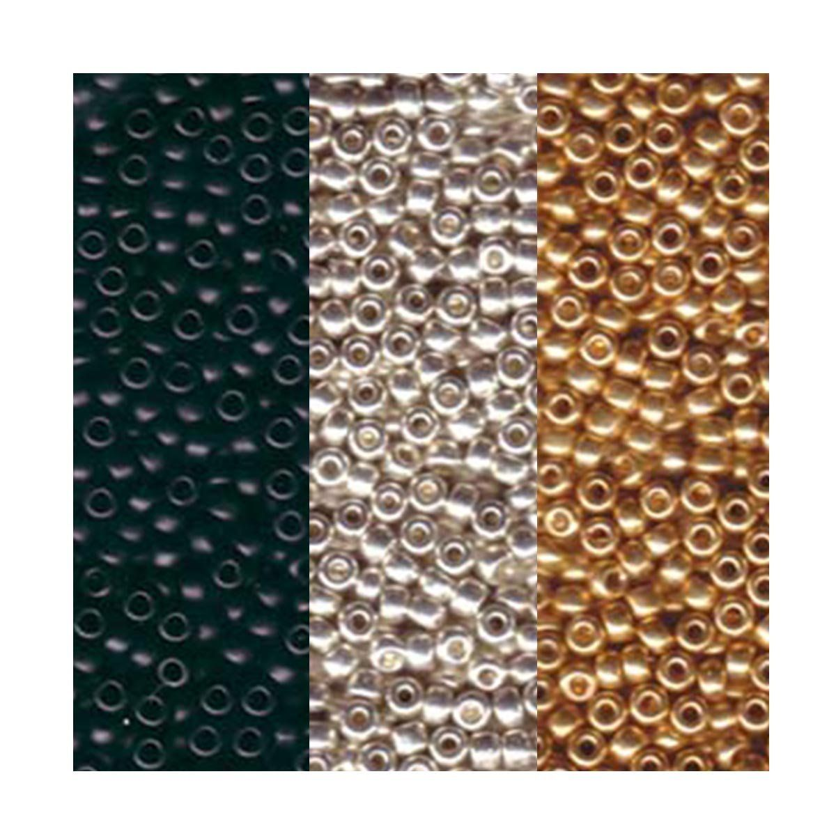 Miyuki Seed Beads 11//0 Galvanised Light Beige Rose Gold Colour 10g