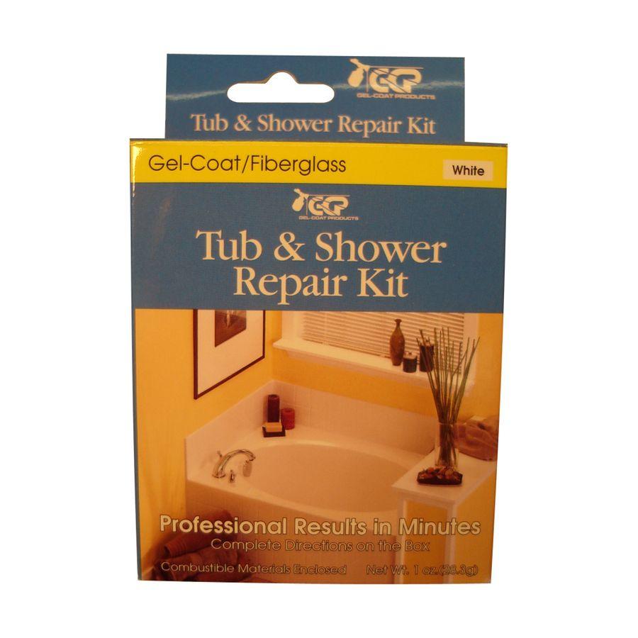 Keeney White Bathtub Inlay Kit Shower repair, Shower tub