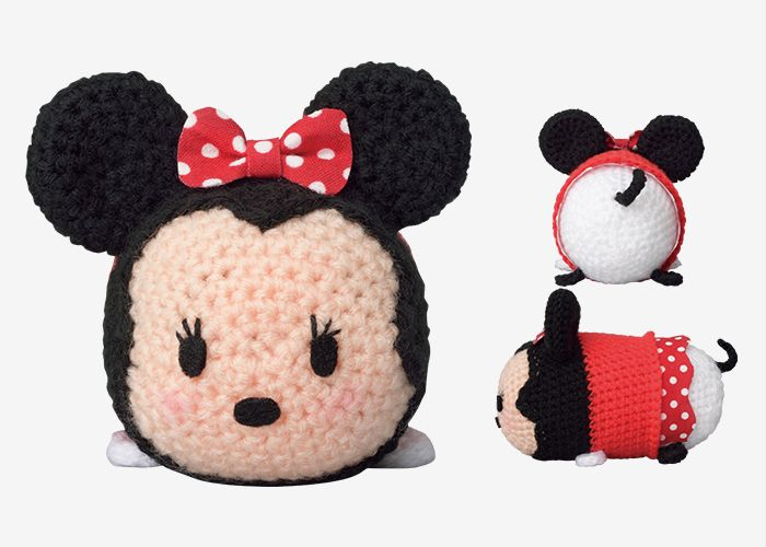 step by step videos for crocheted tsum tsum minnie mouse | Crochet ...