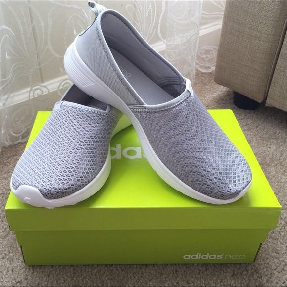 Adidas NEO Slip On Grey Color Latest