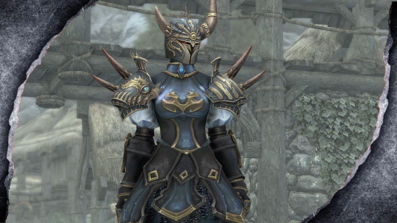 ▷Skyrim Remastered: Valle Lady Heavy Armor ♦️MOD SHOWCASE