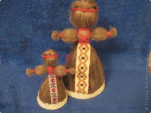Куклы из льна своими руками мастер класс