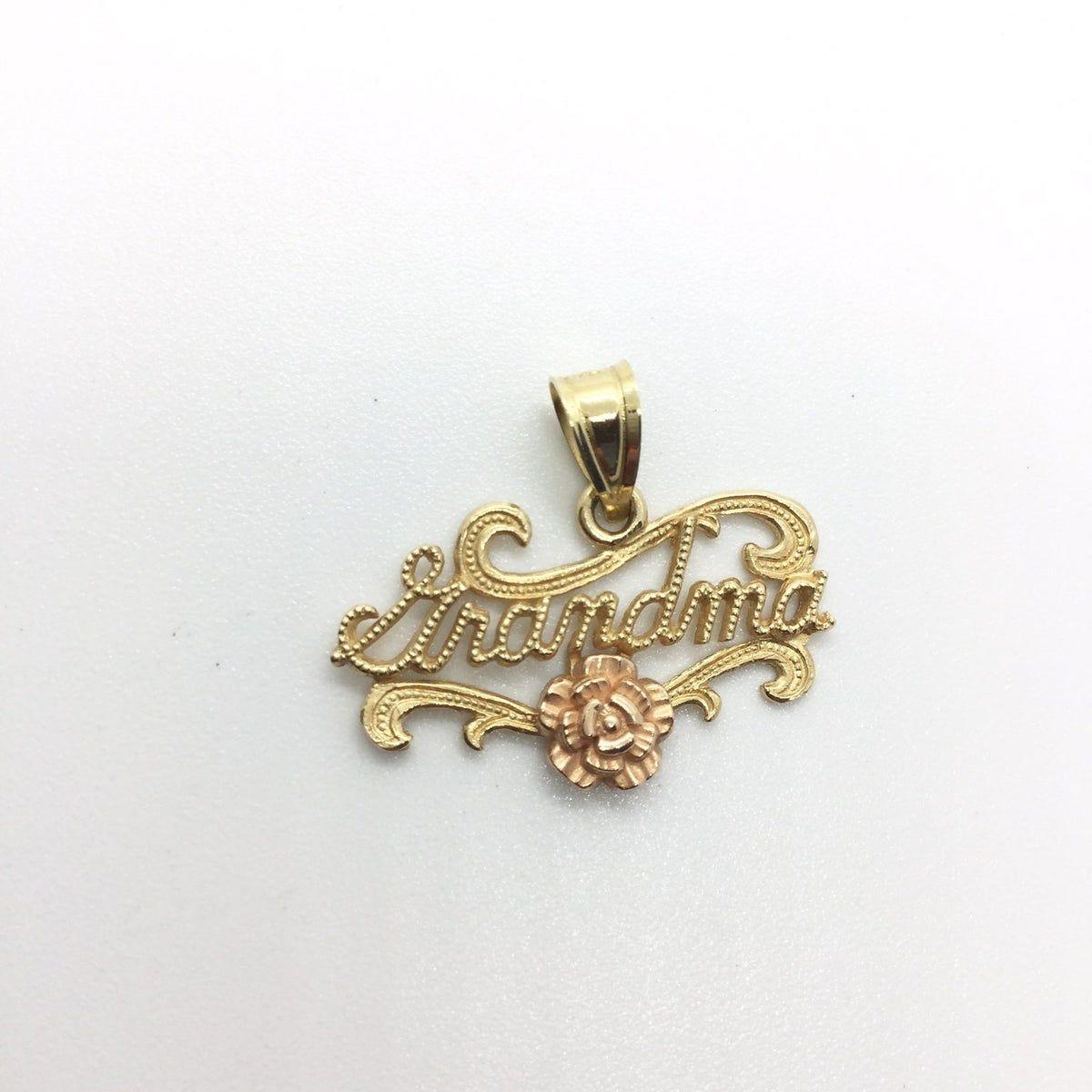 14k Gold Grandma Pendant Necklace Ma Fine Jewelry Designers Pendant Necklace 14k Gold