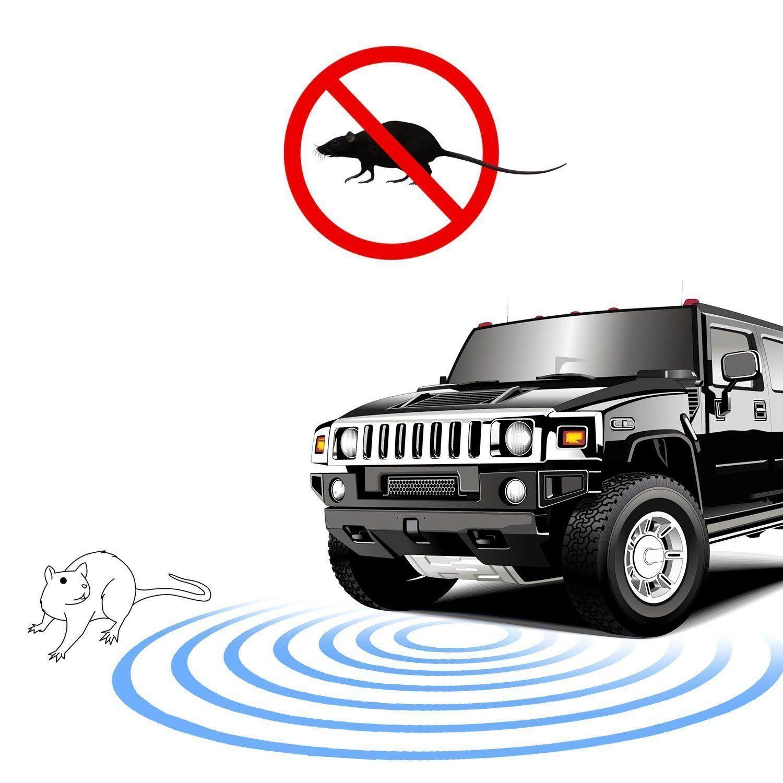 PROAUTOCARE Under Hood Auto Animal&Insect Ultrasonic