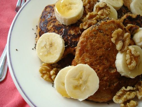 quinoa pancakes..just what I was looking for