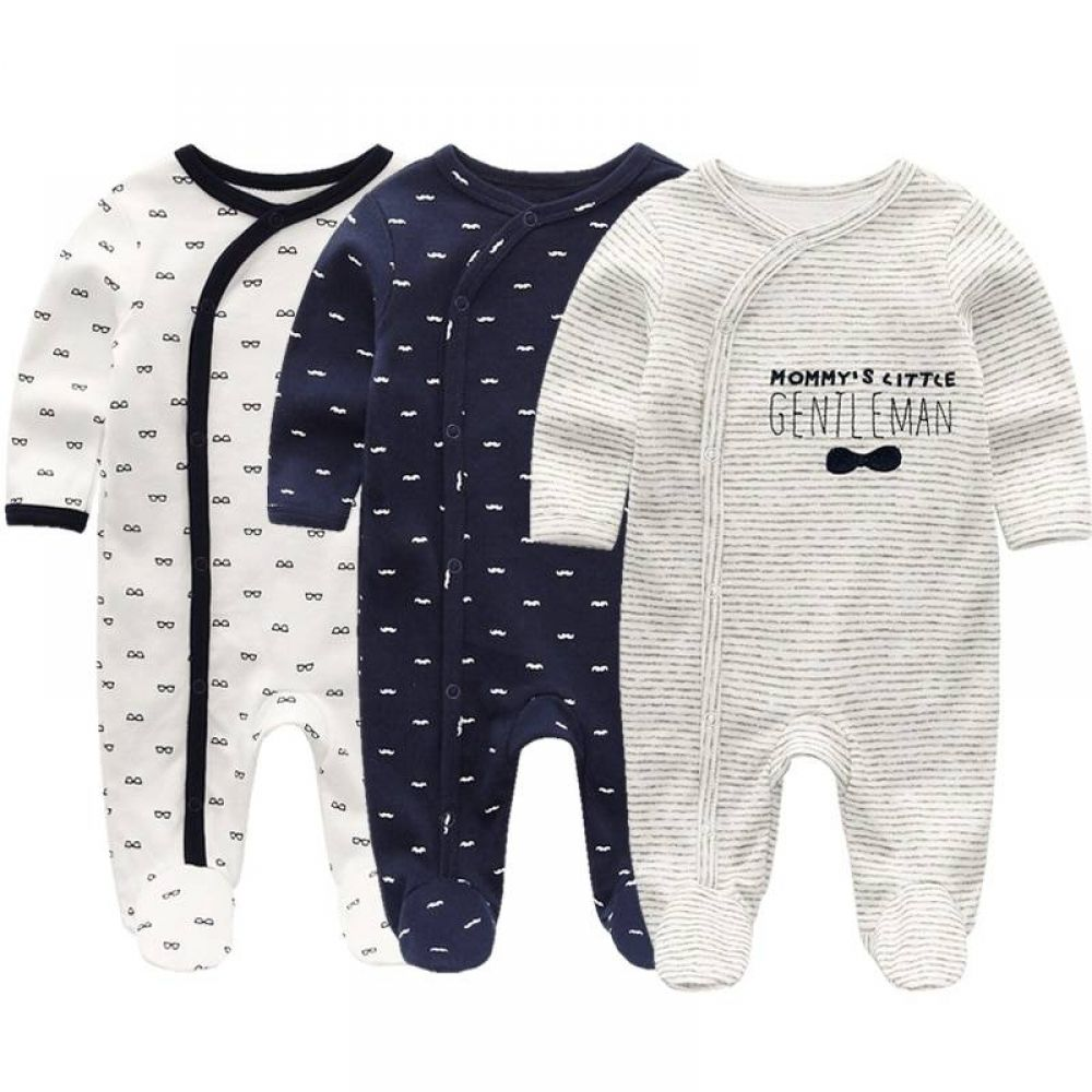 Details about  /Newborn Infant Baby Boys Girls Cartoon Romper Jumpsuits Outfits Clothes US