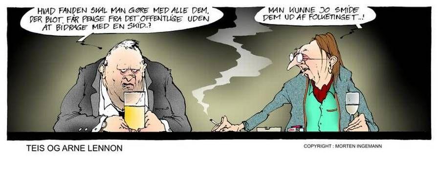 Teis og Arne Lennon - Ekstra Bladet