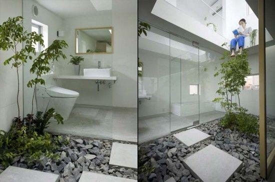 Inside Tiny Houses | Mini Garden Inside Small House | My Home Design | No #
