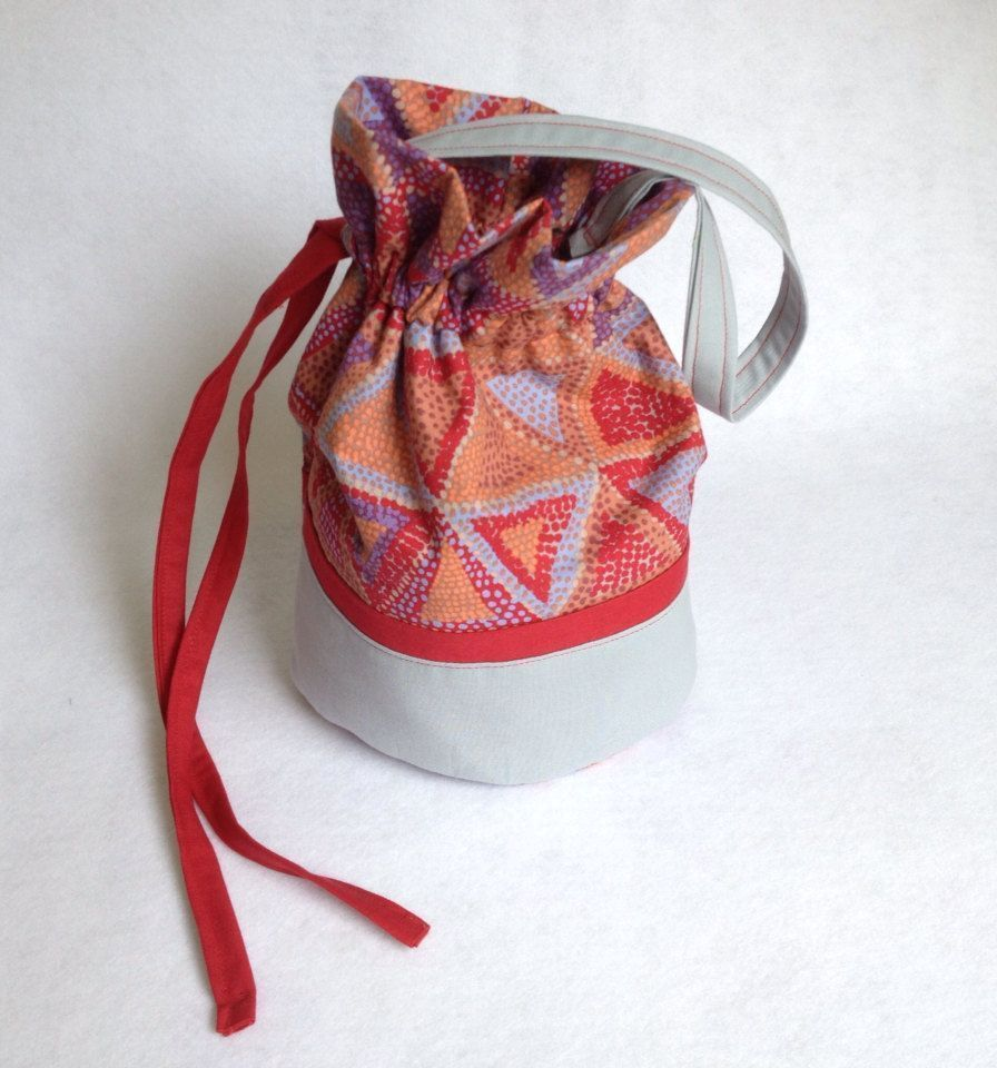 Sock Knitting Project Bag, small drawstring bag, red and gray Brandon Mably bead...,  #Bag #Bead #Brandon #Crochetbagsmallyarns     Knit bags have always been one of the most popular models of handbags, whether hand-made or ready-made. Wicker bags, crocheted bags, macramé bags, corduroy mesh bags and more. Crocheted bag making is always the most interesting type of bag making. You can choose any motif you w... #Bag #Bead #Brandon #Drawstring #gray #Knitting #Mably #Project #Red #Small #Sock