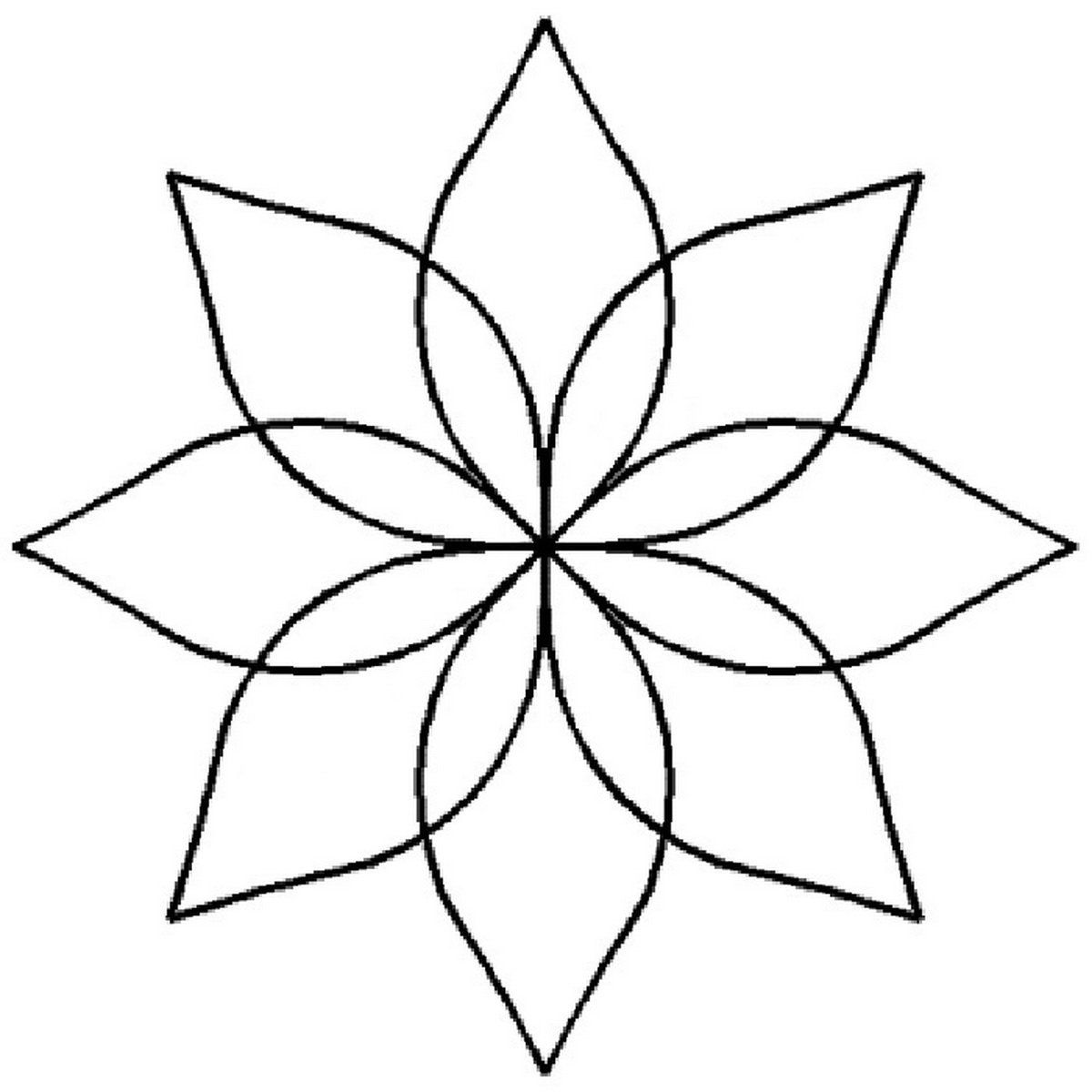 Water Lily Stencil Black And White: Lily Pad Template - Google Search