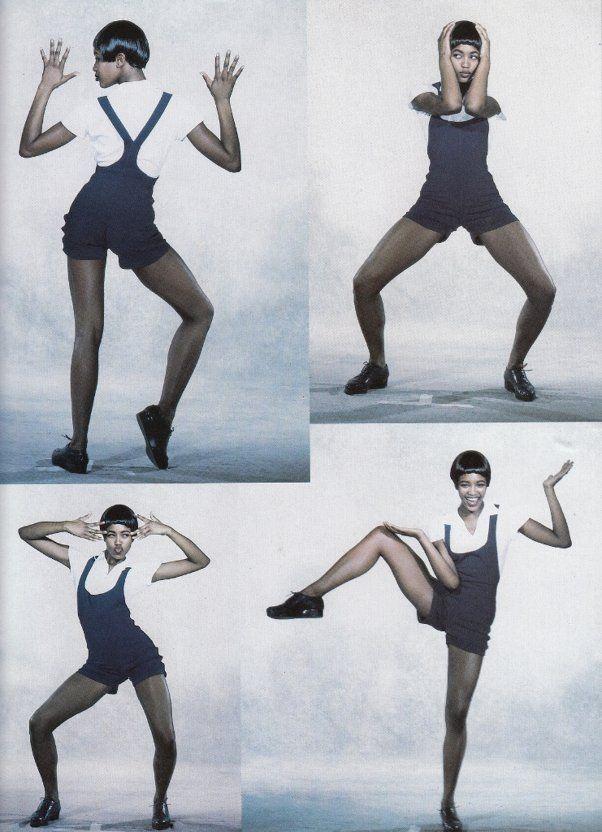 Naomi Campbell Vogue Paris 1989 Peter Lindbergh